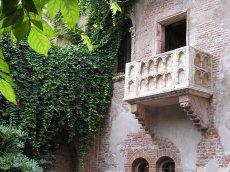 Verona, balkon Julii